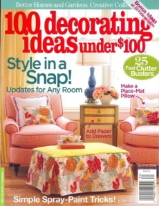 100 decorating ideas under 100 summer 2008
