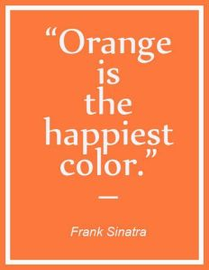 orange the happy color