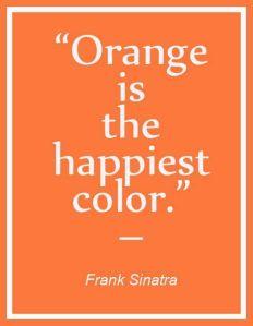 orange the happy color