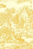 yellow toile