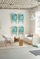 turquoise folding chairs