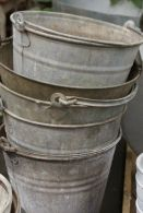 grey pails