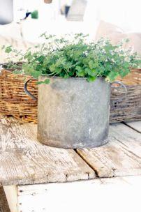 zinc-planter