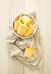 yellow icecream